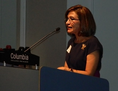 Dr. Ana Gil-García was the 2012 recipent of the Dee Sarelas Service Award