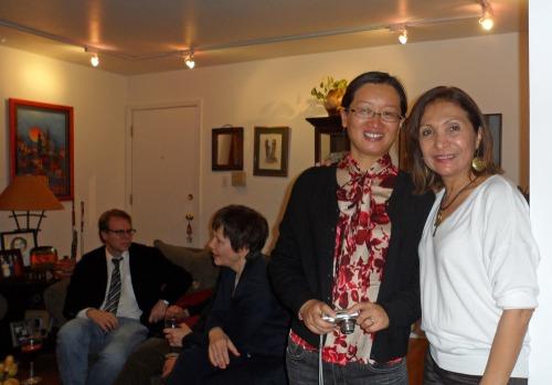 Ron Harvey, Tatiana Venediktova,  Lin Chen and Ana GIl García