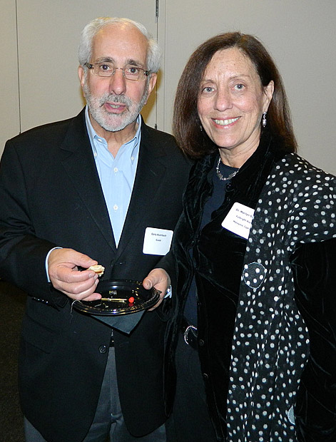 Marilyn Susman, 2010 Dee Sarelas Service Award recipient and her husband