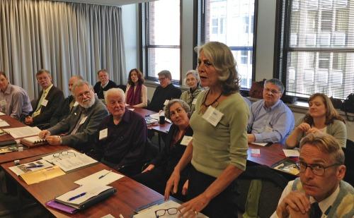 Sandy Senior-Dauer, president of the Connecticut chapter