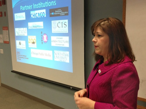 Rebeccah Sanders, Executive Director of explained how to create collaborations with other institutions