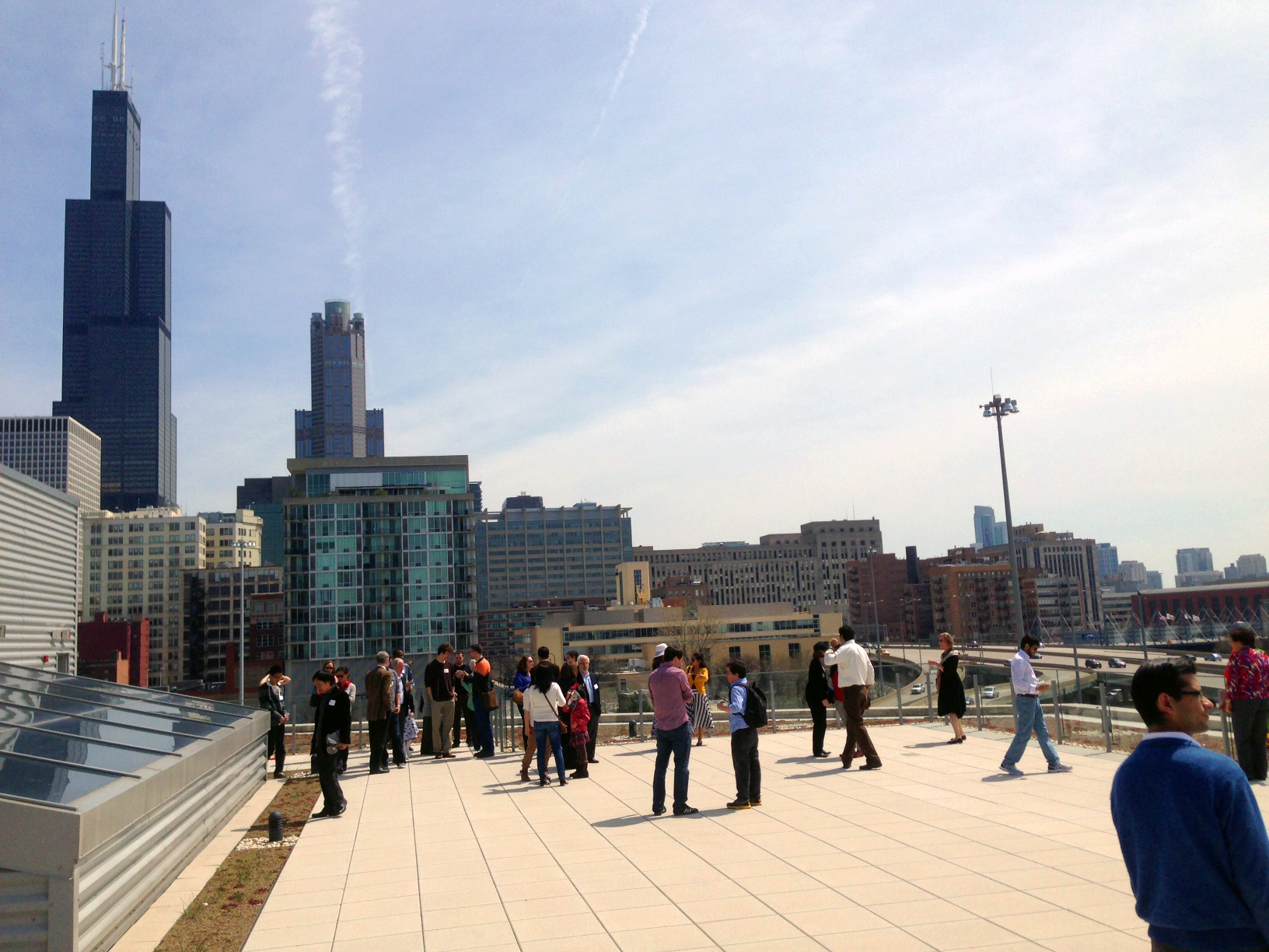 It was a beautiful spring day for the 2013 Fulbright student farewell.