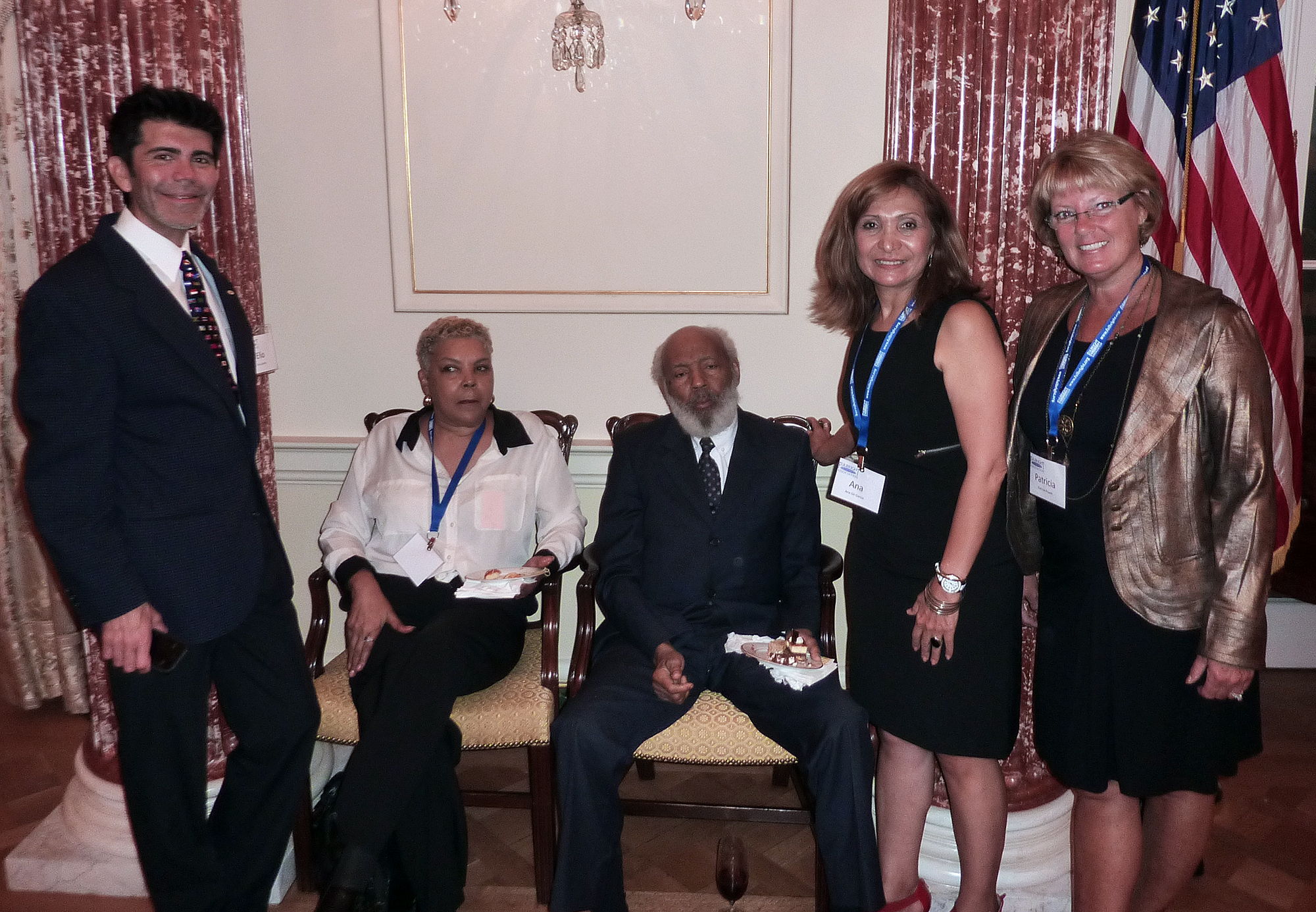 Elio Leturia, Judy Meredith, James Meredith, Ana GIl-García and Patti Powell