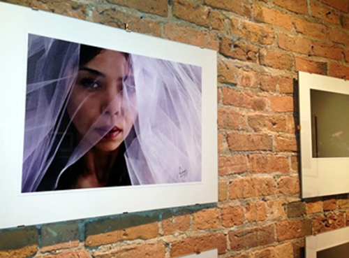 "The photo exhibit ""Victoria"" opened at the UNAM on September 26, 2013"