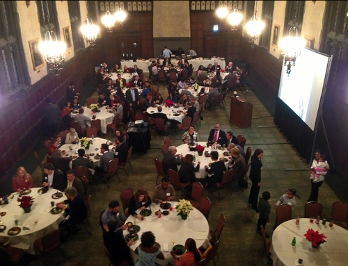 Over 100 people attended this year's Holiday Celebration