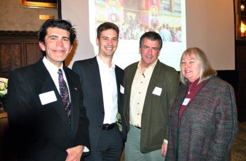 Elio Leturia, Jonathan Broutin, Chris Greiner and Norma Green