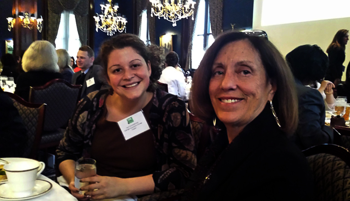 Jenni Schniederman and long-time Board member Marilyn Susman.