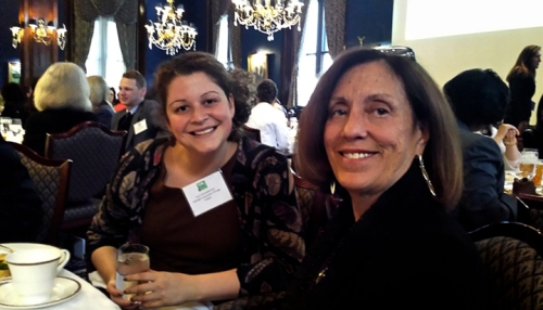 Jenni Schniederman and long-time Board member Marilyn Susman.