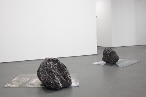Installation view, Proposed Vortex (Iteration #3), 2014 by Regina Mamou