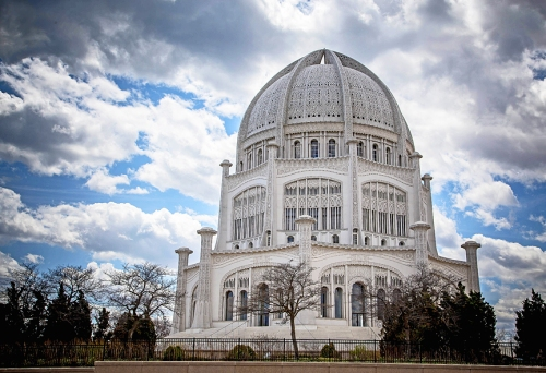 Baha'i Temple in Wilmette, Illinois
