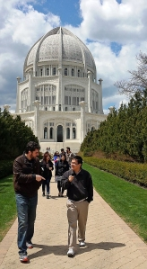 2104 Spring Farewell started at the Baha'i Temple