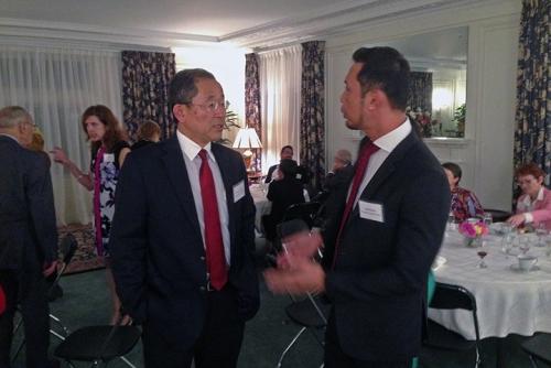 Consul of Japan Yoshida Masaharu