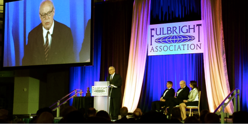 More than 300 Fulbrighters attended the 38th Annual Fulbright Conference in Washington DC