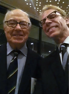 Dr. Hans Blix and Dr. Ron Harvey