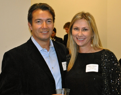 Uruguayan Fulbright alumna Andrea Catarivas and her husband Andre Frieden