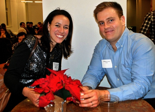 Chicago Chapter Treasurer Cristina Sisson and her husband Michael Tamm
