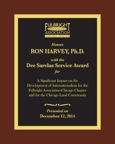 2014 Dee Sarelas Service Award