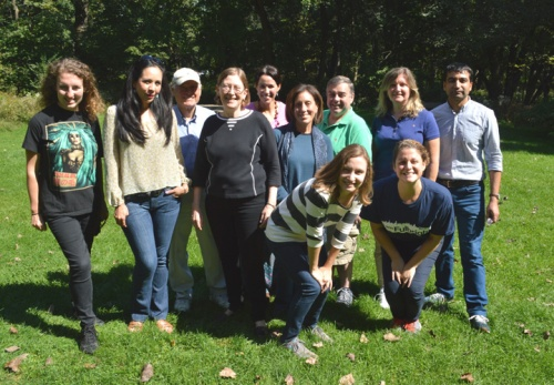 Sunny and balmy, a perfect day for the Fulbright Association picnic
