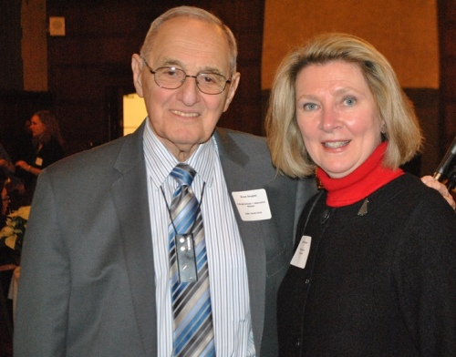 Dr. Bruce Douglas and former Chicago Chapter board member, Dr. Linda Gruber, who currently resides in Arizona.
