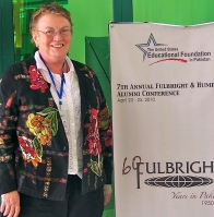 Fulbright scholar Frances Anderson