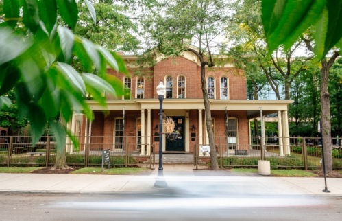 In 1965, the Hull House was designated as a U.S. National Historic Landmark. Photo by Kevin Spitta
