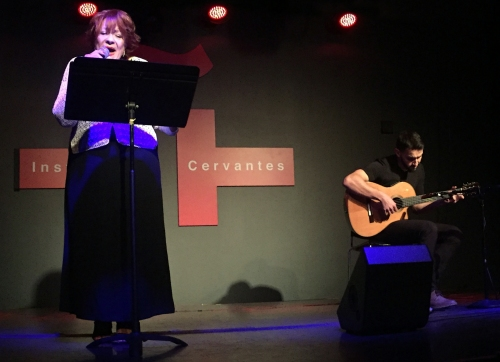 """Por una Cabeza,"" ""Uno,"" ""Se Dice de Mí,"" were some of the tangos local singer Alba Guerra shared with the audience along with guitarist Juan Pablo Jones."